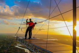 Szczecin Atrakcja Dream Jump BIG TOWER SZCZECIN 252M