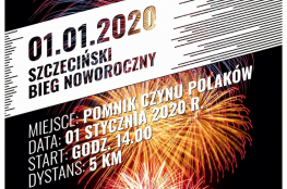 Szczecin Wydarzenie Bieg Szczeciński Bieg Noworoczny