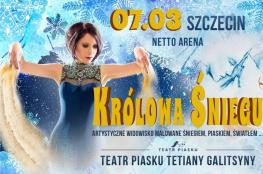 Szczecin Wydarzenie Spektakl Teatr Piasku Tetiany Galistyny: Królowa Śniegu